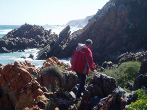 Hiking at Kranshoek, near Knysna