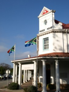 Thesen House, one of the historical buildings in Knysna